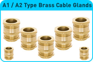 A1-A2 Type Brass Cable Glands