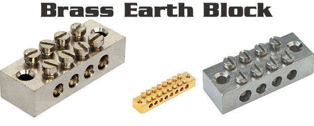 Brass Earth Block