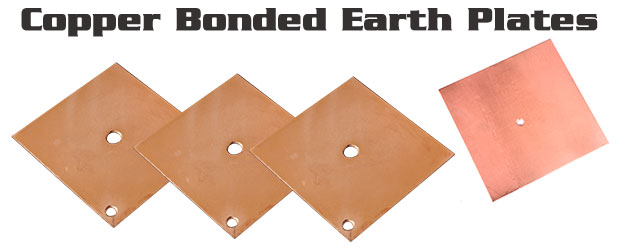 Copper Bonded Earth Plates