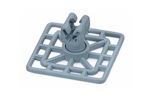 Square Type Earth – Clamp Holder – Plastic (Nylon Six)
